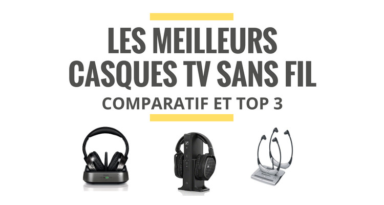 les meilleurs casques tv sans fil comparatif 2019 le juste choix. Black Bedroom Furniture Sets. Home Design Ideas