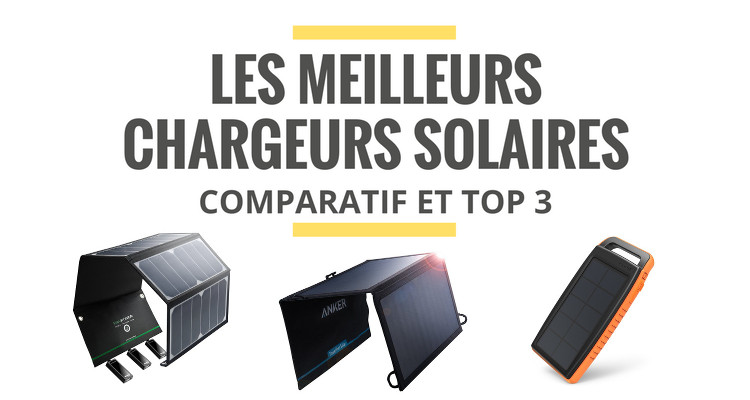 les meilleurs chargeurs solaires portables comparatif 2018. Black Bedroom Furniture Sets. Home Design Ideas