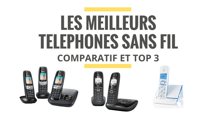 les meilleurs t l phones fixes sans fil comparatif 2018. Black Bedroom Furniture Sets. Home Design Ideas