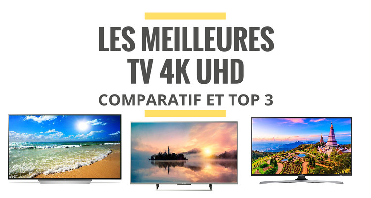 top 3 des meilleures tv 4k uhd comparatif 2018 le. Black Bedroom Furniture Sets. Home Design Ideas