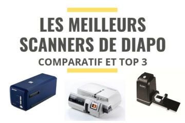 meilleur scanner de diapositives comparatif
