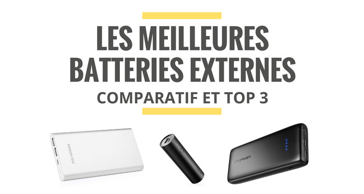 meilleure batterie externe iphone comparatif