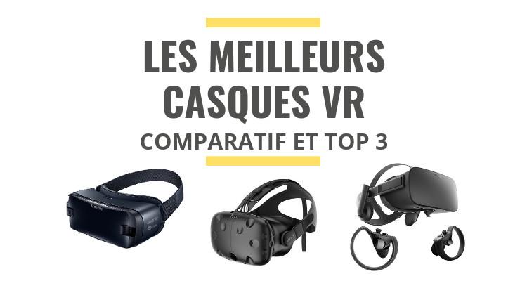 Les Meilleurs Casques Vr Réalité Virtuelle Comparatif 2019 Le