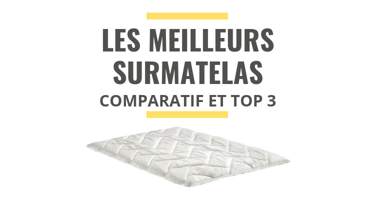 les meilleurs surmatelas comparatif 2019 le juste choix. Black Bedroom Furniture Sets. Home Design Ideas