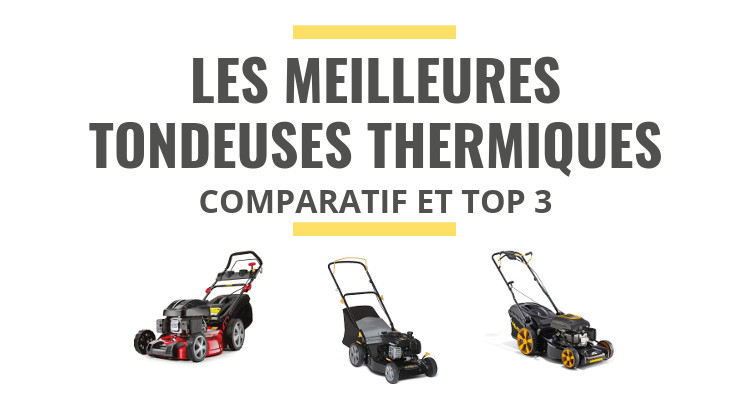 les meilleures tondeuses gazon thermiques comparatif. Black Bedroom Furniture Sets. Home Design Ideas