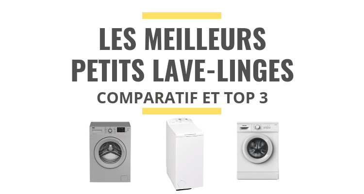 les meilleurs lave linges petite largeur comparatif 2019. Black Bedroom Furniture Sets. Home Design Ideas