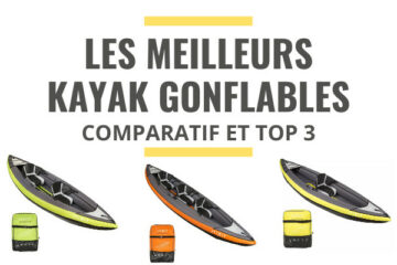 meilleur kayak gonflable comparatif