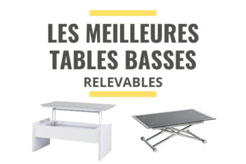 meilleure table basse relevable comparatif
